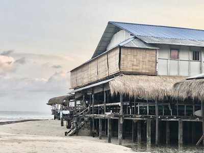 A Beach Shack On Stilts