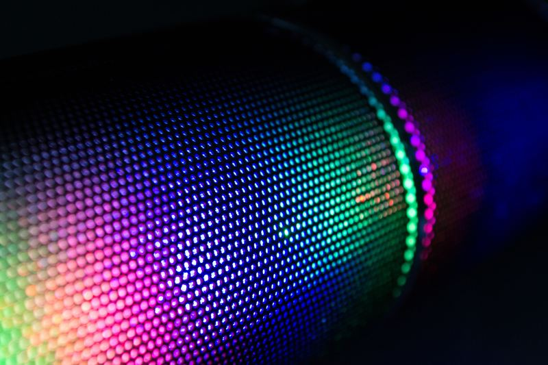 Abstract LED Light