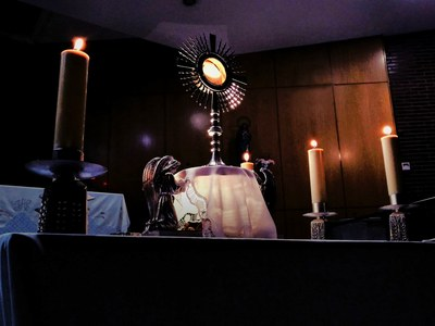 Adore the Blessed Sacrament!