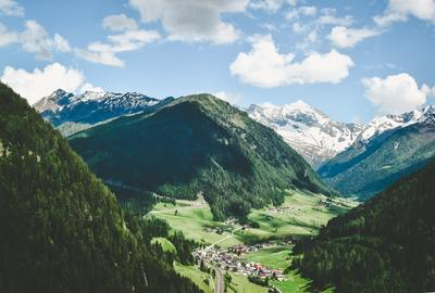 Aerial  Green Mountains