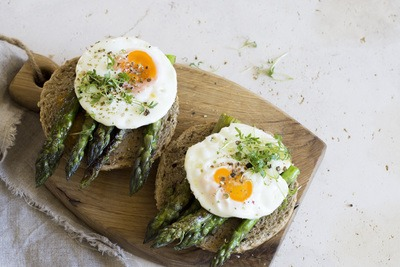 Asparagus Eggs Breakfast