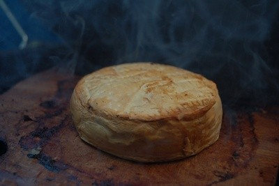 Fromage camembert cuit
