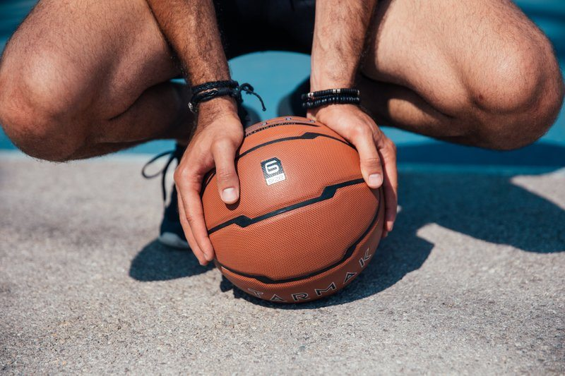 Basketball In Hand
