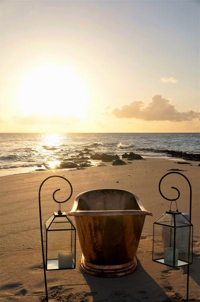 Beach Bathtub