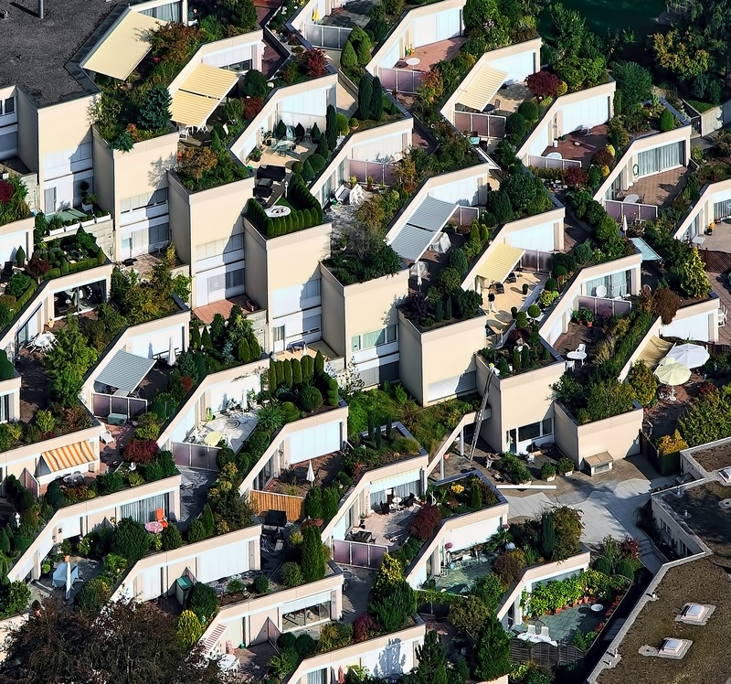 Bird's Eye View Photography of House
