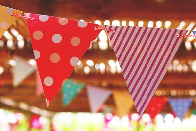 Birthday Party Flags
