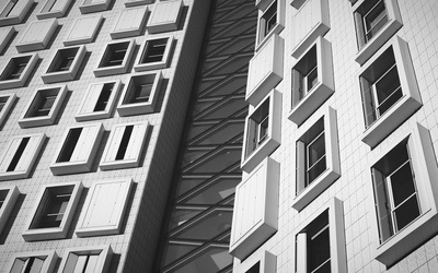 Black & White Photography of Building