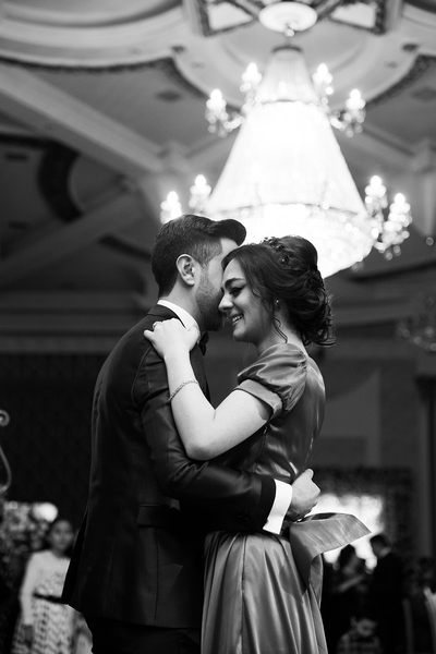 Black & White Photography of Dancing Couple