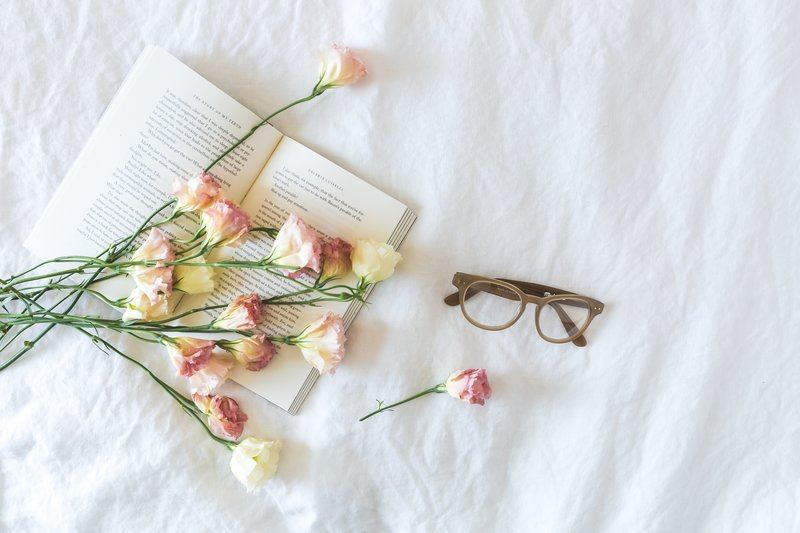Blossoms On Pages & Linnen