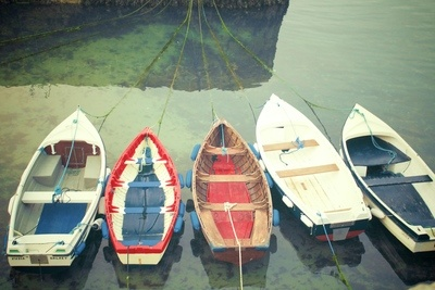 Boats Of Colour