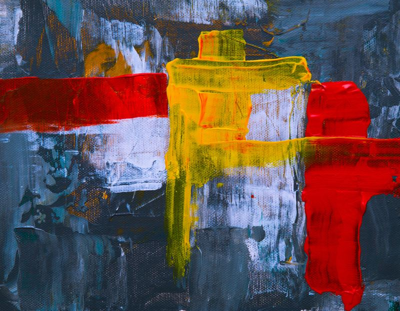 Bold Abstract Painting