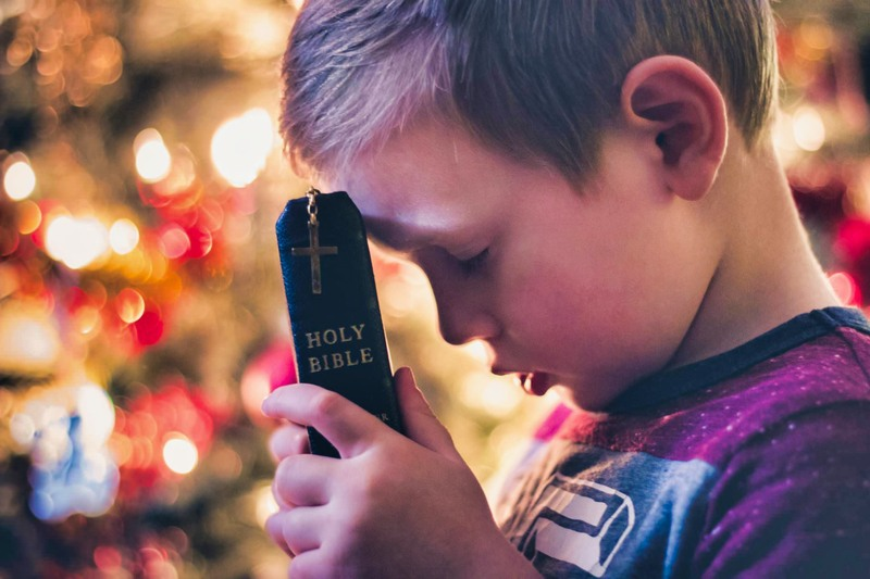 Boy with the Bible