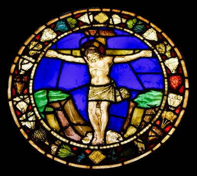 Calvary Stained Glass