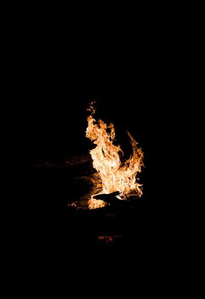 Camp Fire Flames