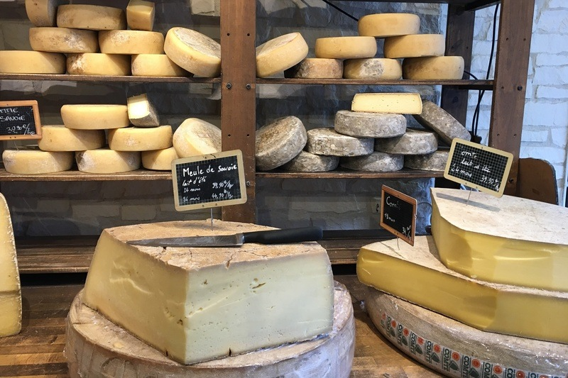 Cheese in Shop