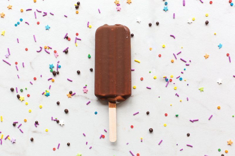 Chocolate Popsicle