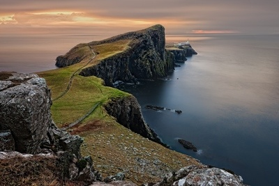 Cliffs in Scotland