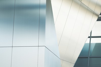 Close Up  Curtain Wall Building