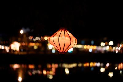 Closeup Photography of Lighted Oil Lantern