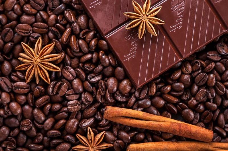 Coffee Beans & Chocolates
