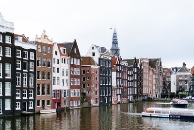 Colorful Buildings Beside A Canal