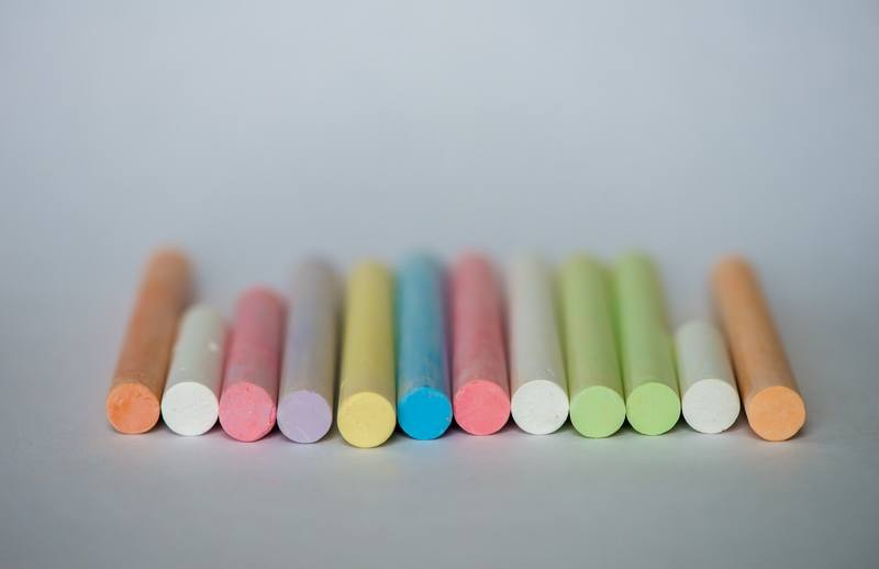 Colorful Chalk