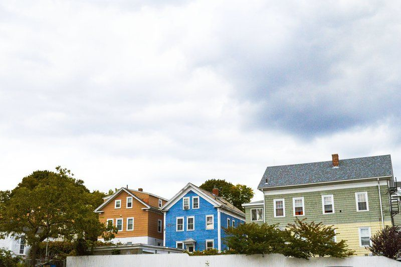 Colorful Heritage Homes