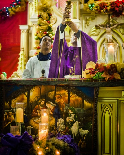 Consecration of the wine
