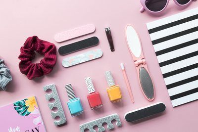 Cosmetics And Stationery For The Holiday
