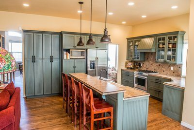 Country Styled Modern Kitchen