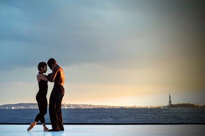 Couple Standing Near Water