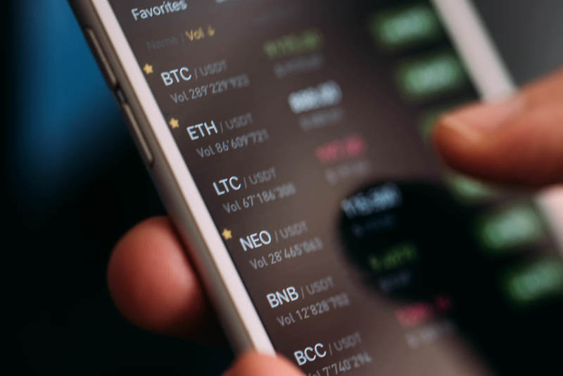 Cryptocurrency on Mobile App