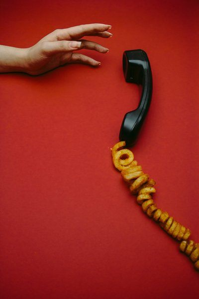 Curly Fries Phone Call
