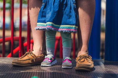 Dad And Baby Shoes