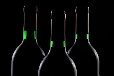 Dark Wine Bottles