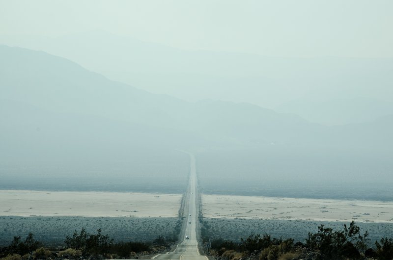 Driving Below Misty Mountains