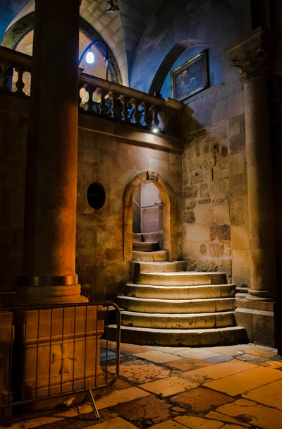 Entrance to the GG. Church of the Holy Sepulchre.