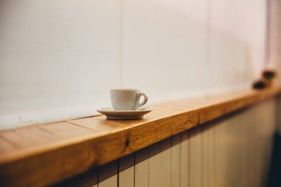 Espresso Cup On Ledge