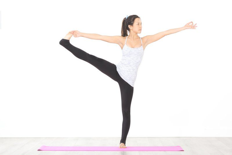 Extended Hand To Toe Pose Yoga
