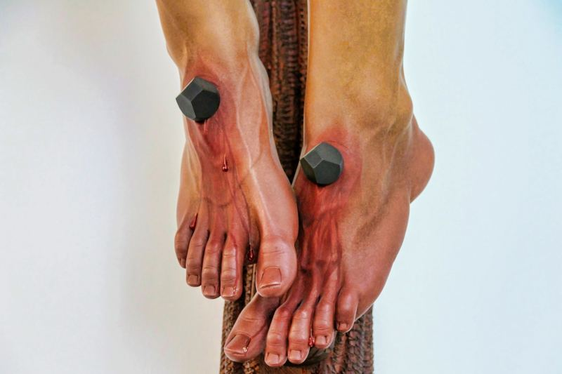 Feet of the Crucified