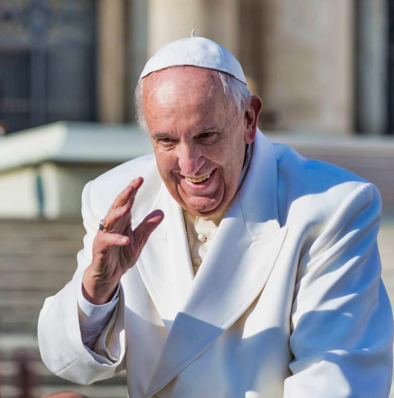 Francis, the pope of joy