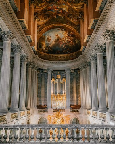 Frescoes In The Chapel Of Versailles