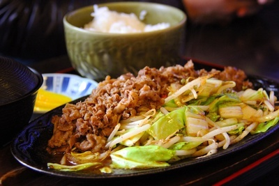 Fried Beef & Rice