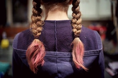 Girl with Pony Tail