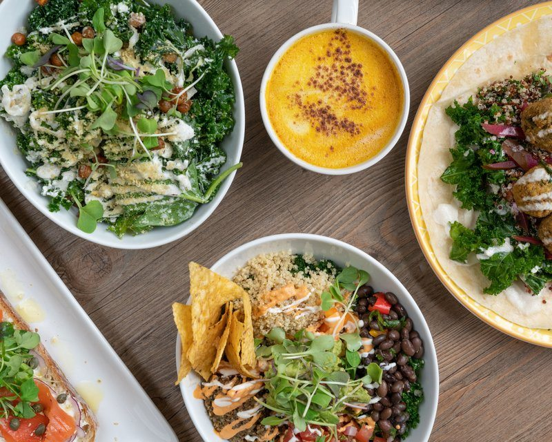 Healthy Dining Salads Wraps And Bowls