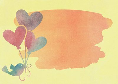 Heart balloons for you