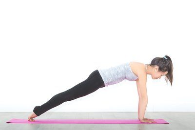 High Plank Core Pose