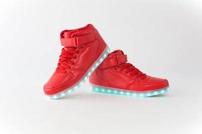 Hightop Lighted Sneakers