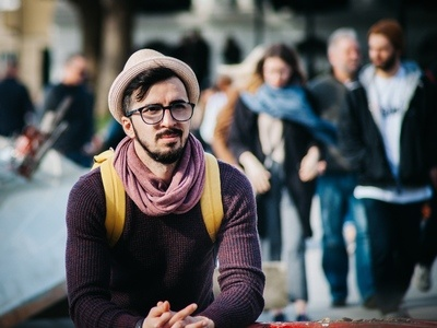 Hipster Crowd