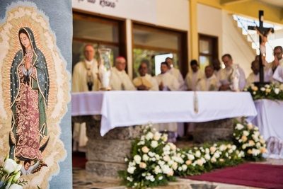 Holy Mass on the Solemnity of the Blessed Virgin
